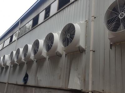 负压风机排尘效果图展示