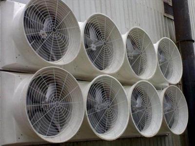 速吉通风厂家负压风机排尘效果图展示