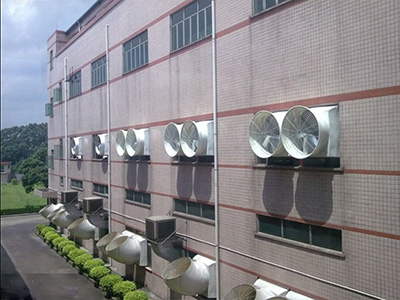 1.4米尺寸玻璃钢负压风机价格_速吉厂家报价