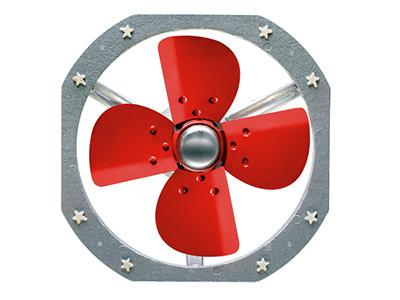 排烟轴流风机工作原理与风机分类知识