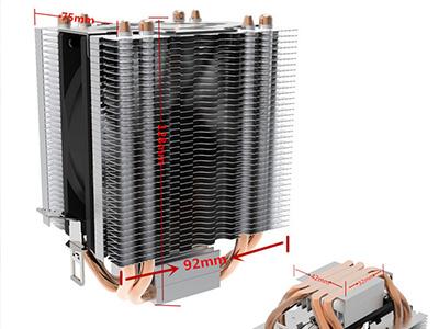 大型遥控水冷风机扇和多联机用的风机的区别