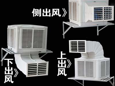 冷风机,环保空调出风口方向图片
