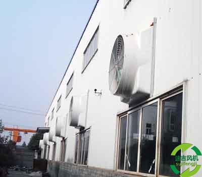 玻璃钢负压风机厂家,负压风机厂家生产1.5米大型风机