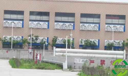 工业排风扇采用玻璃钢材质,负压风机,工厂通风设备