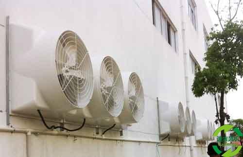 工厂车间通风降温主要有3种形式