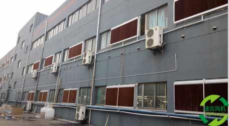 通风降温设备安装非常重要负压风机是关键